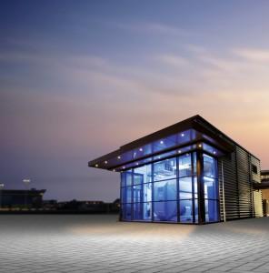 Foto: Hafencity Hamburg - Brennstoffzellen-Pilotanlage am Großen Grasbrook
