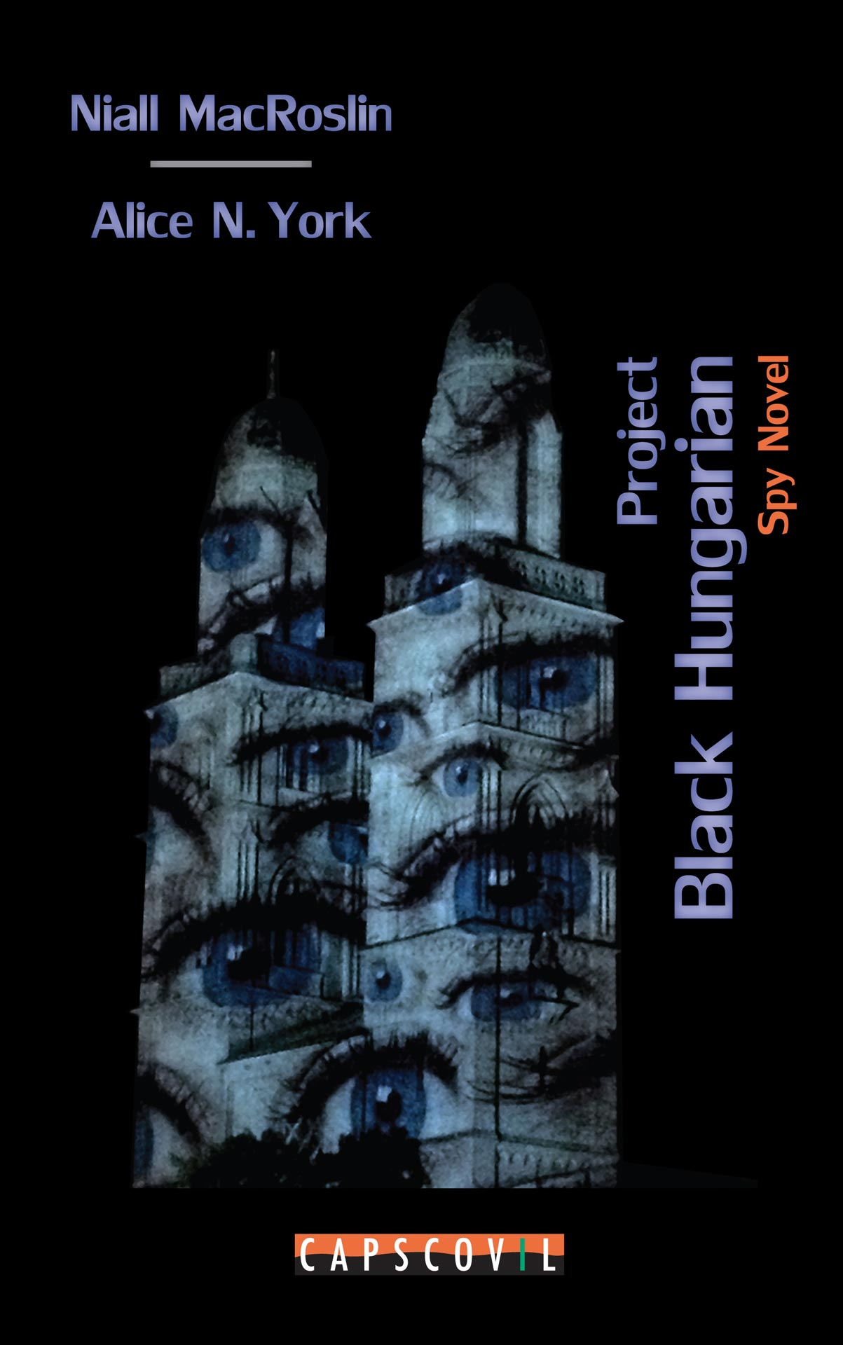 Project Black Hungarian - Spy Novel on IT security and electric vehicles with real role models and based on real events