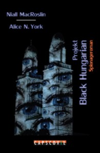 Projekt Black Hungarian - Spionage-Roman zu IT Security und Elektroautos. Mit echten Role Models. Basierend auf wahren Ereignissen.