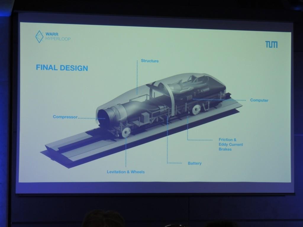 WARR Hyperloop Pod Prototype Presentation Munich July 4, 2106