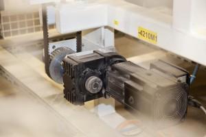 SEW Servomotor für Classen Verpackung