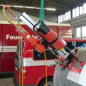 Bild: SEW Feuerwehr Bohrmaschine