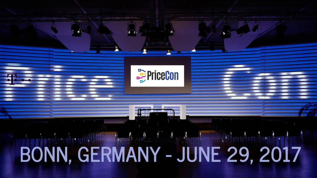 PriceCon Startup Conference Bonn, Germany, June 29