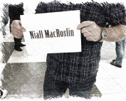 Niall MacRoslin - Co-Author of spy novel Project Black Hungarian