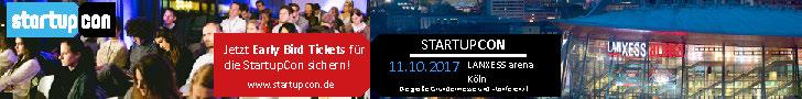 StartupCon 2017 - 11. Oktober 2017, Köln