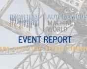 Autonomous Machines World 2017 Event Report