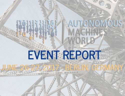 Event Report: Autonomous Machines World 2017