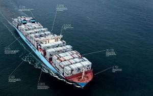 Microsoft Maersk Triple E Infografic Smart Ship