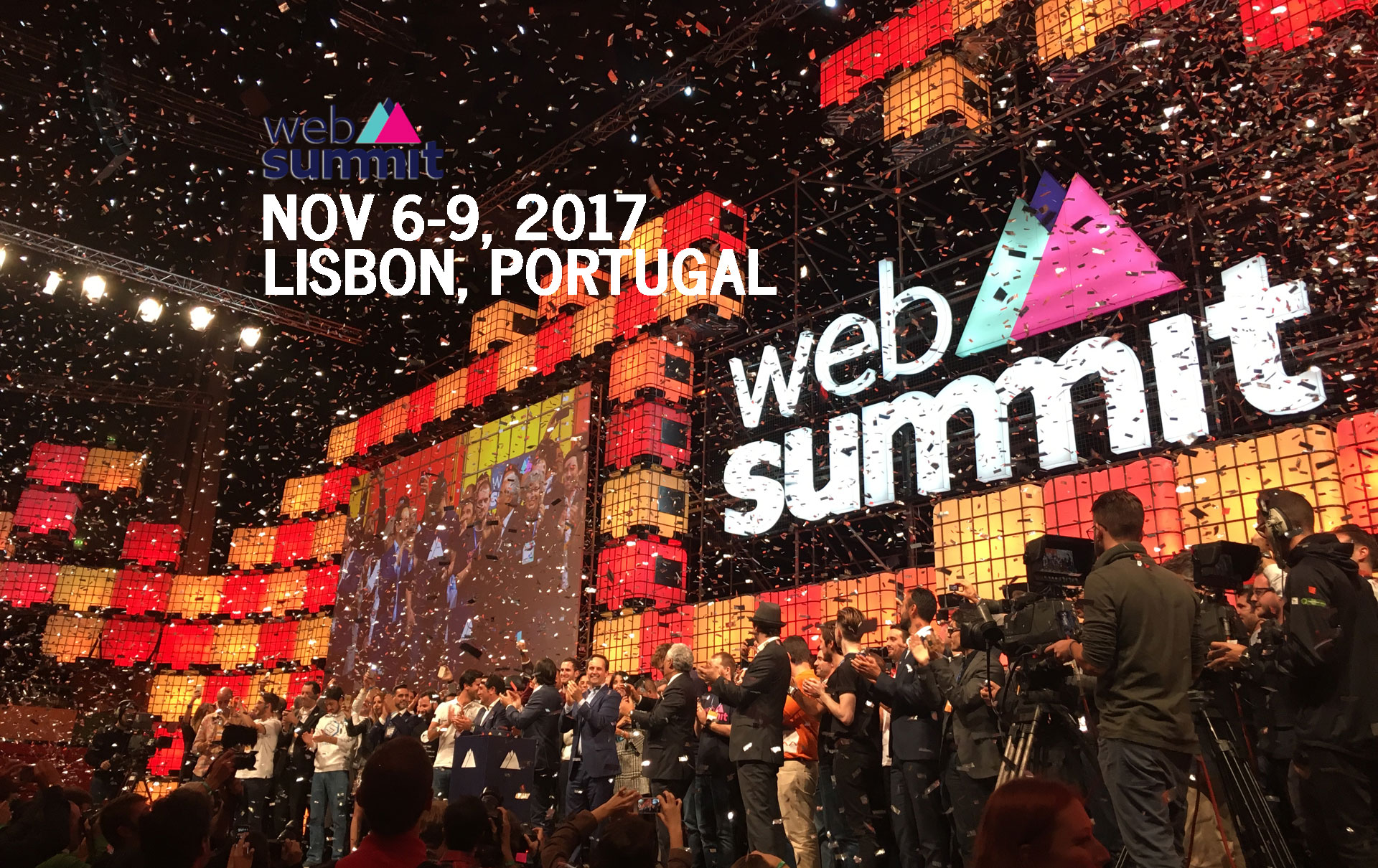 Web Summit 2017 Nov 6-9 Lisbon Portugal