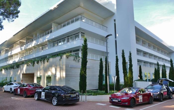 Nikola Tesla EV Rally Kroatien, Hotel Bellevue Mali Losinj