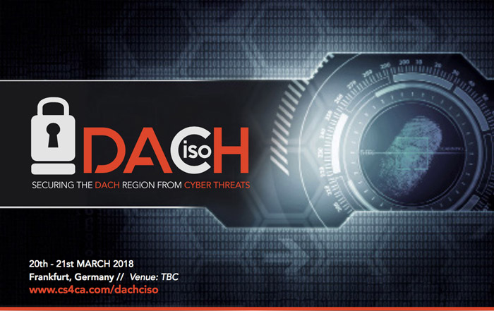 DACHciso Summit: 20th – 21st March 2018, Frankfurt, Germany
