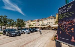 Nikola Tesla EV Rally Kroatien