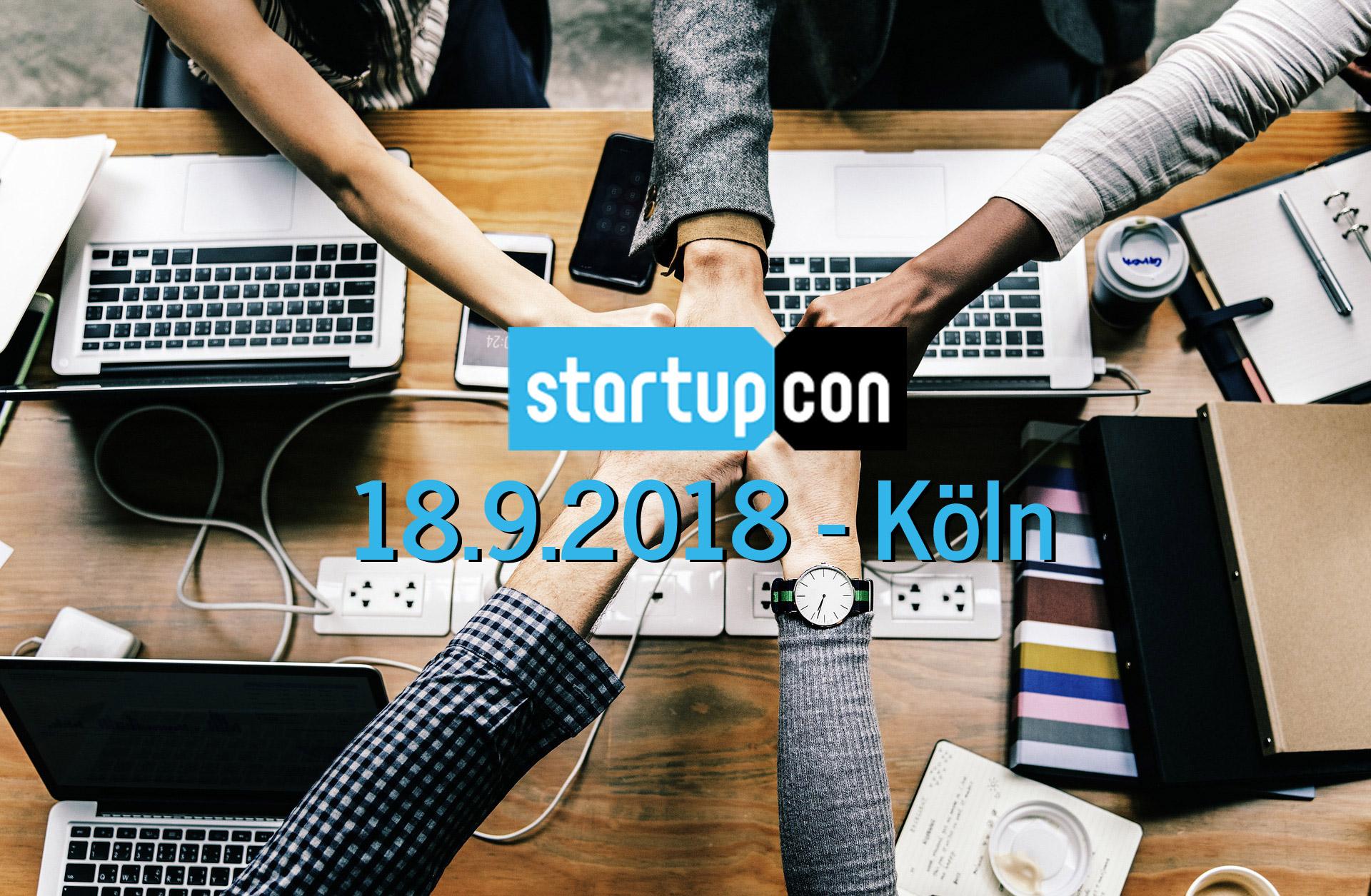 Innovation Summit und Deutschlands größte Startup Konferenz StartupCon 2018 - 18. Sept. Köln