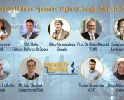 Diversity Natives Speakers' Night at Google IsarValley on Mar 20, 2019