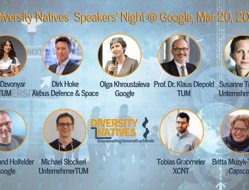 Diversity Natives Speakers' Night #1
