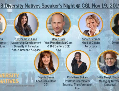 Diversity Natives Speakers Night #3