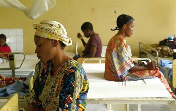 Frauen im Kongo, die Opfer von Gewalt wurden. Foto von Ann Curry
